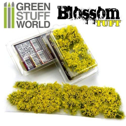 Green Stuff World BLOSSOM TUFTS - YELLOW
