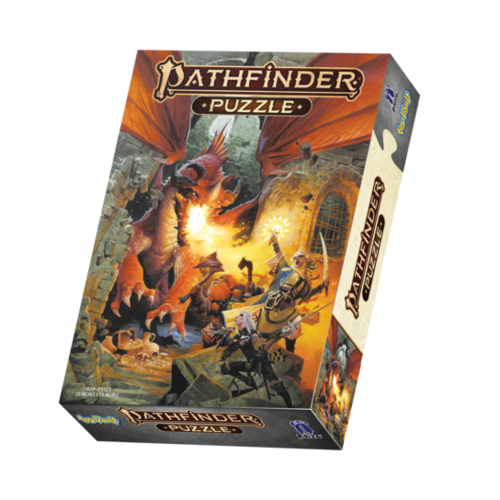 Toy Vault TV1000 PATHFINDER JIGSAW PUZZLE - CORE RULEBOOK