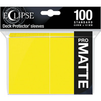 DECK PROTECTOR: ECLIPSE MATTE STANDARD - LEMON YELLOW (100)
