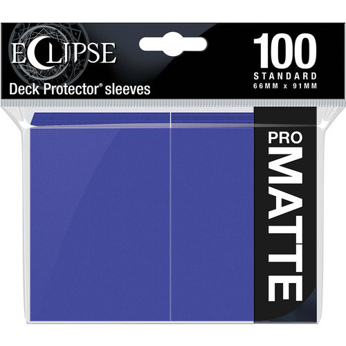 Ultra Pro International DECK PROTECTOR: ECLIPSE MATTE STANDARD - ROYAL PURPLE (100)