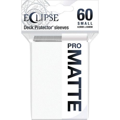 Ultra Pro International DECK PROTECTOR: ECLIPSE MATTE SMALL - ARCTIC WHITE (60)