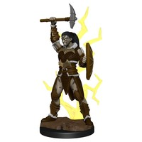 MINIS: ICONS OF THE REALMS: GOLIATH FEMALE BARBARIAN
