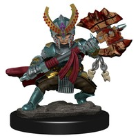 MINIS: ICONS OF THE REALMS: HALFING FEMALE FIGHTER