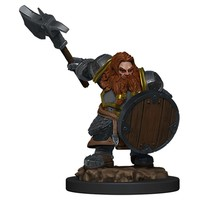 MINIS: ICONS OF THE REALMS: DWARF MALE FIGHTER