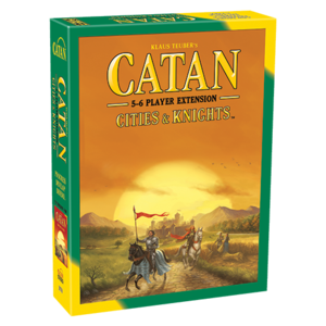 Catan Studios CATAN: CITIES & KNIGHTS 5-6 PLAYER EXTENSION