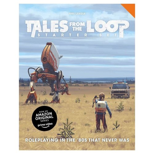 Free League Publishing TALES FROM THE LOOP - STARTER SET