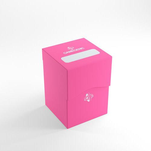 GAMEGENIC DECK BOX: 100+ PINK