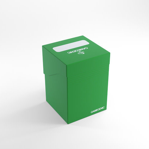 GAMEGENIC DECK BOX: 100+ GREEN