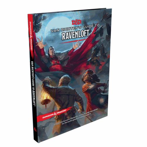 Wizards of the Coast D&D 5E: VAN RICHTEN'S GUIDE TO RAVENLOFT (Standard Cover)