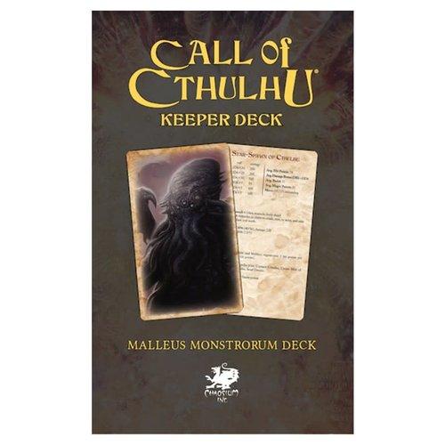 Chaosium CALL OF CTHULHU: KEEPER DECK - MALLEUS MONSTRORUM