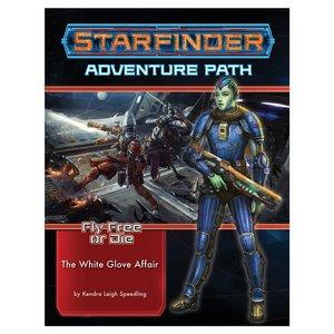 Paizo Publishing STARFINDER: ADVENTURE PATH: FLY FREE OR DIE 4 - THE WHITE GLOVE AFFAIR