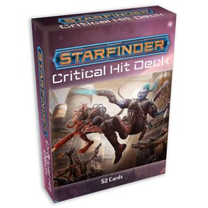Paizo Publishing STARFINDER: CRITICAL HIT DECK