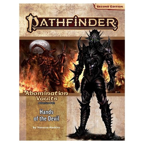 Paizo Publishing PATHFINDER 2ND EDITION: ADVENTURE PATH: ABOMINATION VAULTS 2 - HANDS OF THE DEVIL