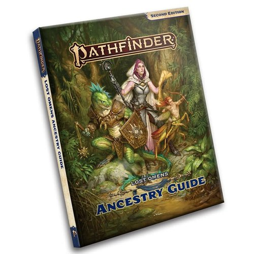 Paizo Publishing PATHFINDER 2ND EDITION: LOST OMENS - ANCESTRY GUIDE