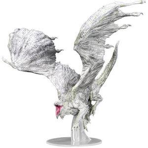 Wizkids MINIS: D&D: ICONS OF THE REALMS: ADULT WHITE DRAGON - PREMIUM FIGURE