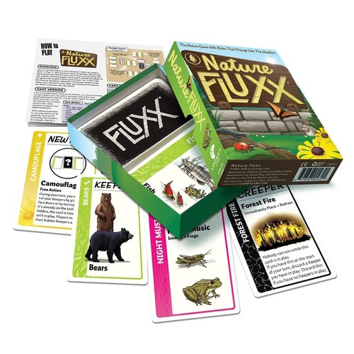 Looney Labs FLUXX: NATURE CARD GAME