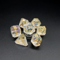 AVALORE DICE SET 7 PRISMATIC SUNLIGHT
