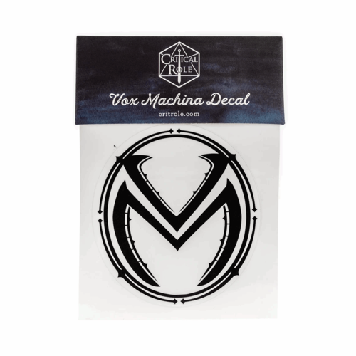 Darrington Press / Critical Role CRITICAL ROLE VOX MACHINA DECAL