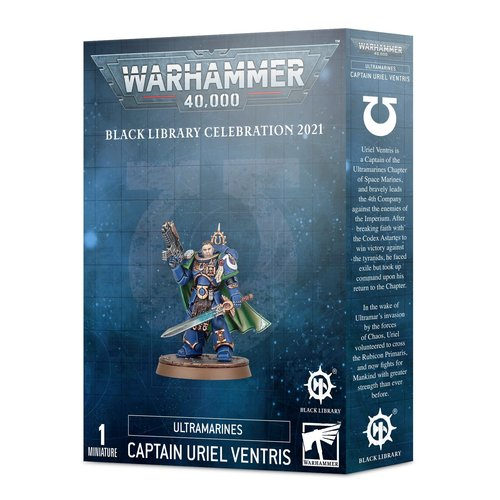 Games Workshop SM ULTRAMARINES CAPTAIN URIEL VENTRIS