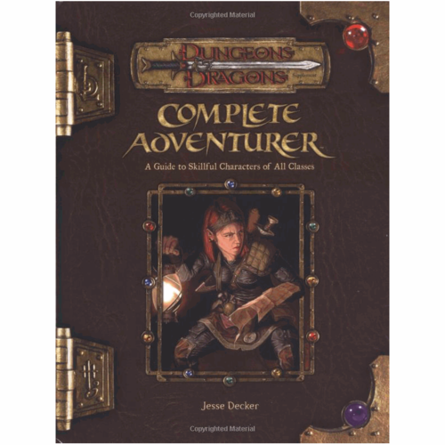 Wizards of the Coast D&D 3.5: COMPLETE ADVENTURER (Used)
