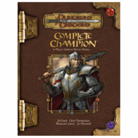 D&D 3.5: COMPLETE CHAMPION (Used)