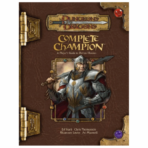 Wizards of the Coast D&D 3.5: COMPLETE CHAMPION (Used)