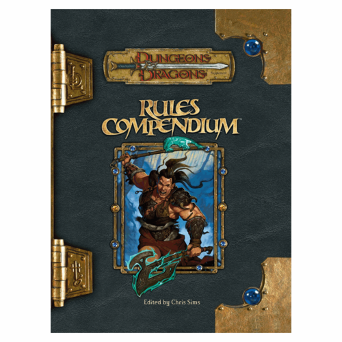 Wizards of the Coast D&D 3.5: RULES COMPENDIUM (Used)