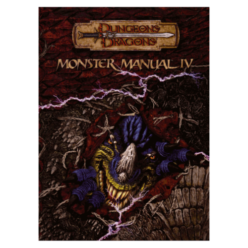 Wizards of the Coast D&D 3.5: MONSTER MANUAL IV (Used)