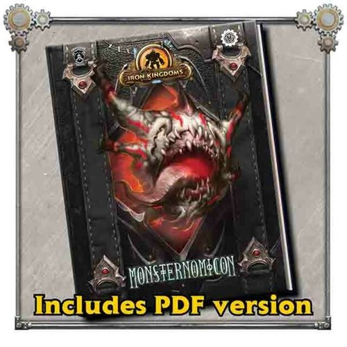 Privateer Press (Pre-Order) IRON KINGDOMS MONSTERNOMICON (5E)
