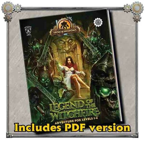 Privateer Press (Pre-Order) IRON KINGDOMS LEGEND OF THE WITCHFIRE (5E)