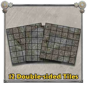 Privateer Press (Pre-Order) IRON KINGDOMS BATTLE TILES LEGEND OF WITCHFIRE (5E)
