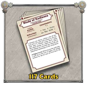 Privateer Press (Pre-Order) IRON KINGDOMS SPELL REFERENCE CARDS (5E)