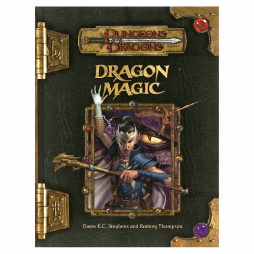 Wizards of the Coast D&D 3.5: DRAGON MAGIC (Used)