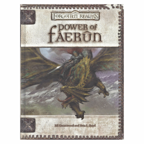 Wizards of the Coast D&D 3.5: FORGOTTEN REALMS POWER OF FAERUN (Used)