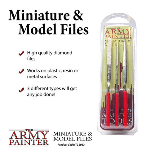 The Army Painter TOOLS: MINIATURE & MODEL FILES