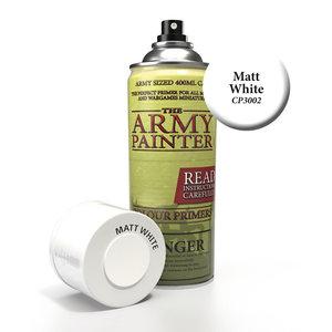 The Army Painter COLOR PRIMER: MATTE WHITE