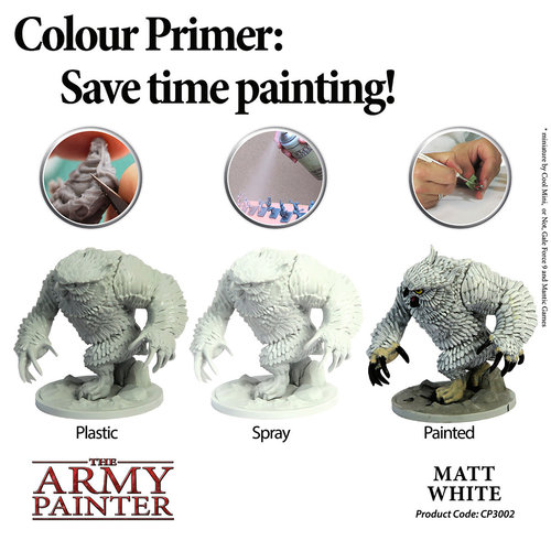 The Army Painter COLOR PRIMER: MATTE WHITE
