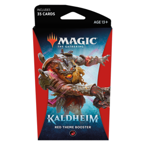 Wizards of the Coast MTG: KALDHEIM - RED THEME BOOSTER
