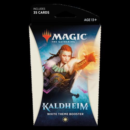 Wizards of the Coast MTG: KALDHEIM - WHITE THEME BOOSTER