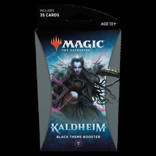Wizards of the Coast MTG: KALDHEIM - BLACK THEME BOOSTER