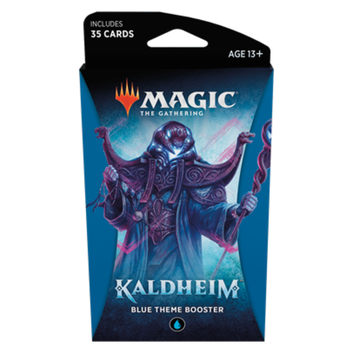 Wizards of the Coast MTG: KALDHEIM - BLUE THEME BOOSTER
