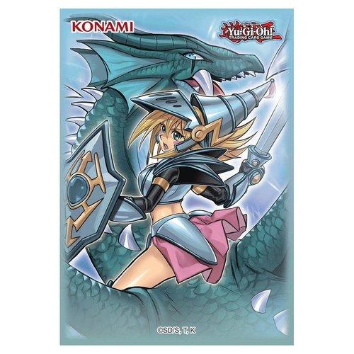 Konami Digital Entertainment DECK PROTECTOR: YUGIOH: DARK MAGICIAN THE DRAGON KNIGHT (50)