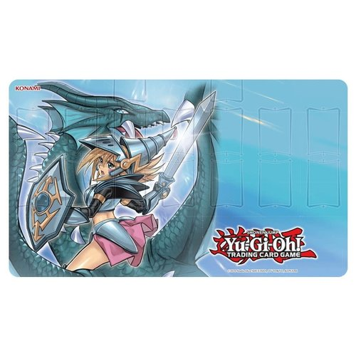 Konami Digital Entertainment PLAYMAT: YUGIOH: DARK MAGICIAN THE DRAGON KNIGHT
