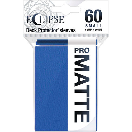 Ultra Pro International DECK PROTECTOR: ECLIPSE MATTE SMALL - PACIFIC BLUE (60)
