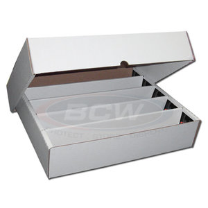 BCW Diversified CARDBOARD BOX: 5000 COUNT