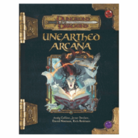 D&D 3.5: UNEARTHED ARCANA (Used)