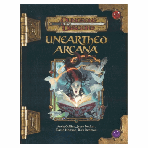 Wizards of the Coast D&D 3.5: UNEARTHED ARCANA (Used)