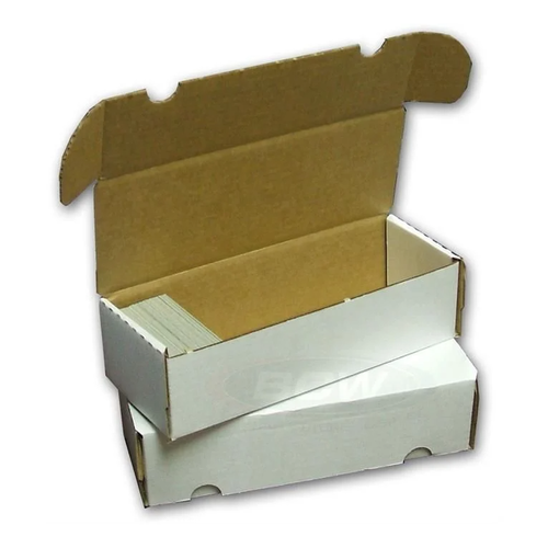 BCW Diversified CARDBOARD BOX: 550 COUNT