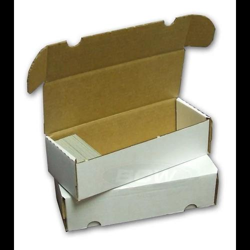 BCW Diversified CARDBOARD BOX: 550 COUNT