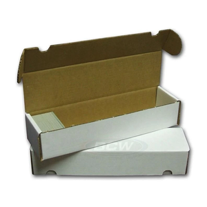 BCW Diversified CARDBOARD BOX: 800 COUNT